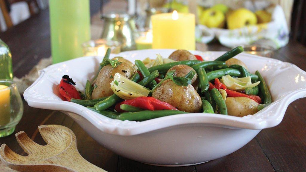 Warm Vegetable Salad Recipe