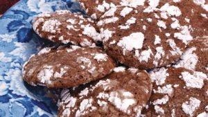 Chocolate Crinkle Cookies Recipe