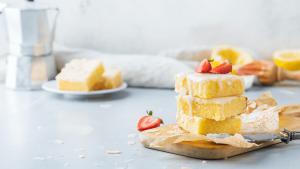 Lemon Angel Bars Recipe
