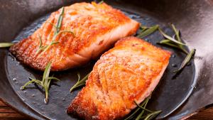 Sweet Bourbon Salmon Fillet Recipe